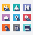 Set design concept icons and apps Icons vector image vector image