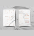 wedding invitation cards save the date rsvp vector image