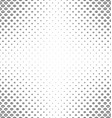 Abstract black and white curved shape pattern vector image