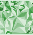 abstract green pattern of geometric shapes vector image