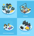 cryptocurrency electronic money vector image vector image