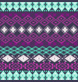 ethnic tribal geometric pattern vector image vector image