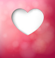 Love greeting card vector image vector image