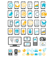 Modern gadget and mobile device vector image