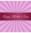Mothers Day realistic festive bend Banner vector image vector image