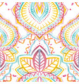 watercolor native indian pattern vector image vector image