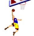 al 1011 basketball 02 vector image vector image