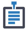 document attachment paper icon vector image vector image