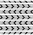 ethnic seamless texture vector image vector image