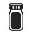 isolated medical icon vector image vector image