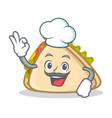 chef sandwich character cartoon style