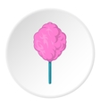 Cotton candy icon cartoon style vector image vector image