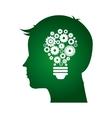 ecological mind vector image