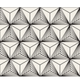 seamless black white geometric bursting vector image