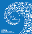 wind icon Nice set of beautiful icons twisted vector image vector image