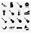 Musical instruments part 2 vector image