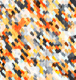 abstract orange cell seamless vector image vector image
