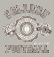 american college athletic football