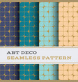 art deco seamless pattern 43 vector image vector image