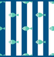 fish seamless pattern for use as wrapping paper vector image vector image