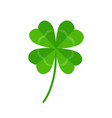 four leaf clover icon isolated on white background vector image