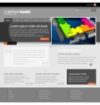 Gray Website Template 960 Grid