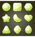 Lime Candies vector image vector image