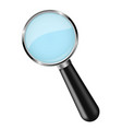 magnifying glass 3d vector image