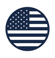 memorial day flag round button decoration american