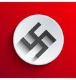 modern swastika icon background vector image