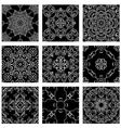 ornam set black 380 vector image vector image