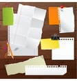 paper set vector image vector image
