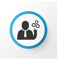 team leader icon symbol premium quality isolated vector image vector image