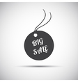 Simple big sale label icon vector image