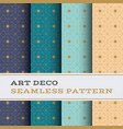 art deco seamless pattern 44 vector image vector image