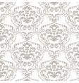 baroque damask delicate ornament pattern vector image vector image