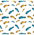 Car machine pattern on a white background vector image