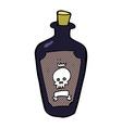 comic cartoon poison vector image vector image