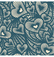 Decorative lace pattern with hearts vector image vector image