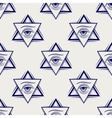 Double triangle and eye seamless pattern vector image
