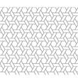 hexagon star seamless pattern vector image vector image