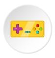 Joystick icon cartoon style vector image vector image