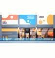 modern shopping center interior big retail store vector image vector image