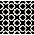 Seamless Black And White Rounded Shape vector image vector image