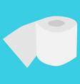 tissue paper tissue roll flat icon design vector image