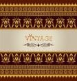 vintage background elegant antiques victorian vector image vector image