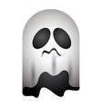 isolated ghost icon vector image