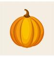 yellow pumpkin icon vector image