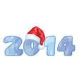 2014 xmashat vector image vector image