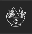 ayurveda chalk white icon on black background